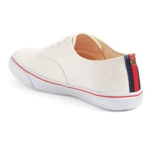 Tory Burch White Murray Tennis Sneakers